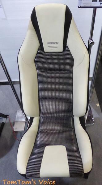 レカロLX-Fのホワイト