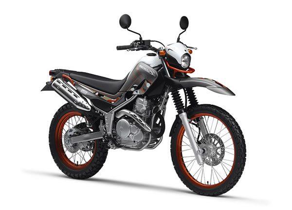 ヤマハのセロー250ccのオフロードバイク