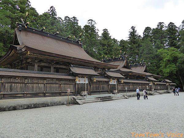 熊野本宮はいつも通りのお姿