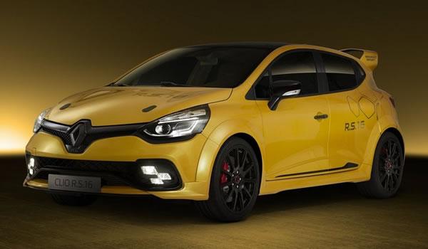 Clio RS16 Conceptのフロント画像その3