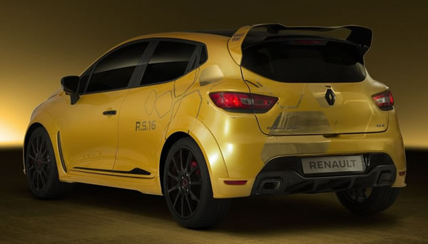 Clio RS16 Conceptのフロント画像