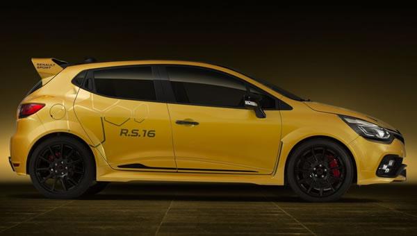 Clio RS16 Conceptのサイド画像