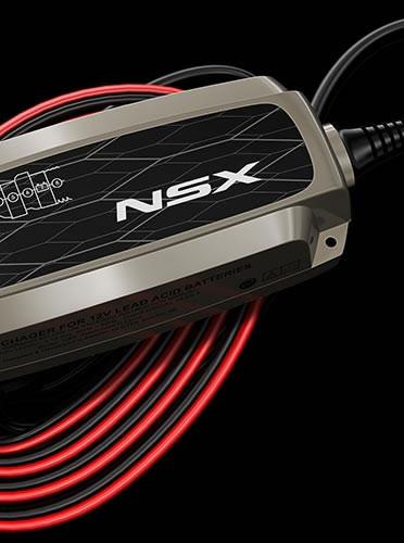 新型NSXのオプションの充電ケーブル