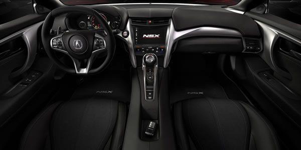 新型NSXのインパネ画像