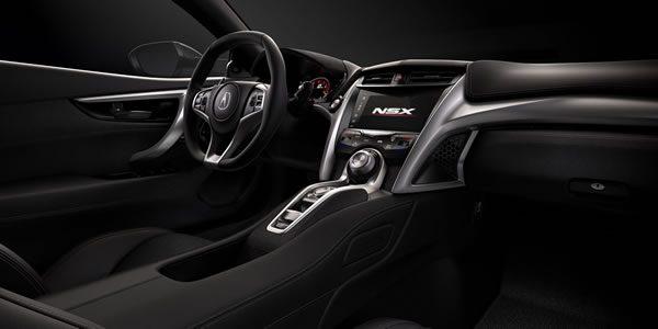 新型NSXのインパネ画像その2