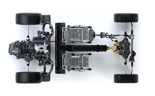新型NSXのパワートレーン