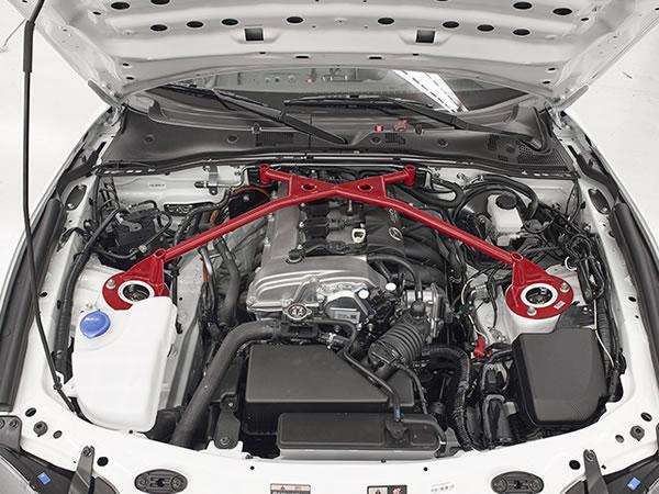 「GLOBAL MX-5 CUP仕様車」エンジンの画像