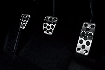 S660のαのペダル