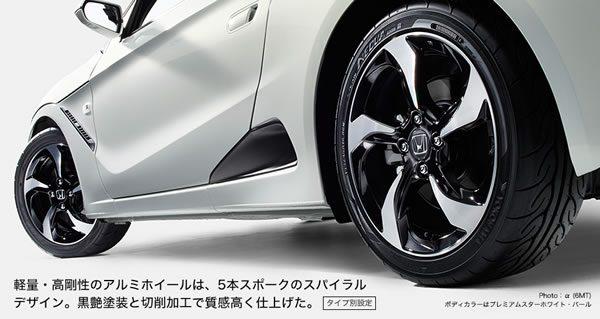 S660のタイヤホイール