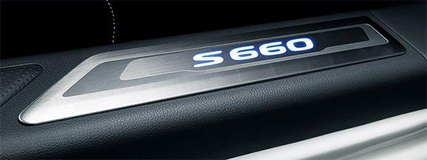 S660の純正オプションのサイドガーニッシュ