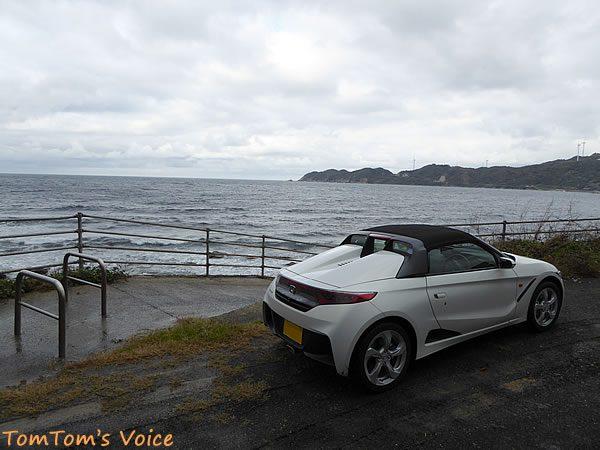 S660で行く出雲島根半島、十六島湾を望むその2
