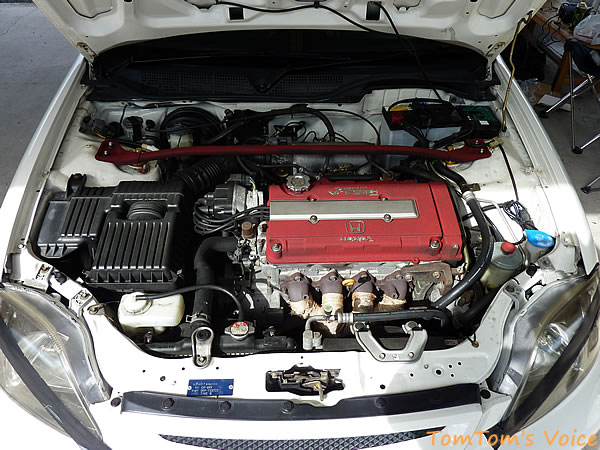 EK9のエンジン画像