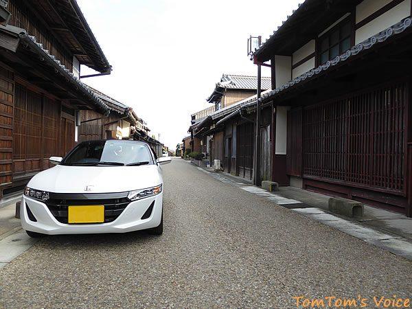 S660で行く関宿の古い町並み