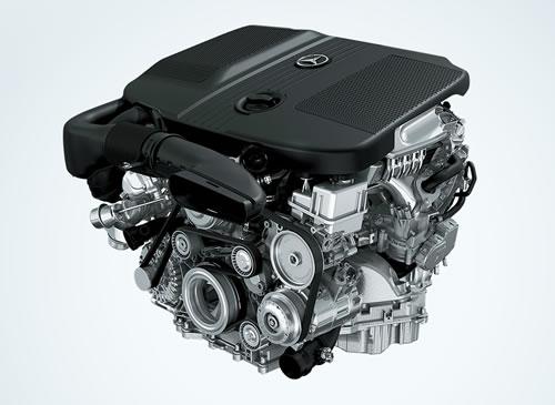 メルセデスのクリーンディーゼルエンジン