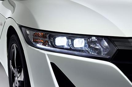 S660のLEDヘッドライト