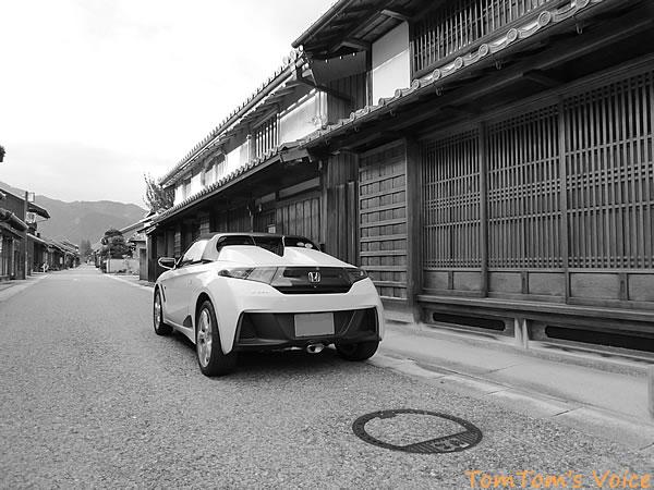 S660で行く伊勢と関宿、街道筋に風情がある