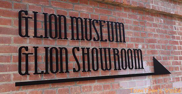 GLION MUSEUMの看板