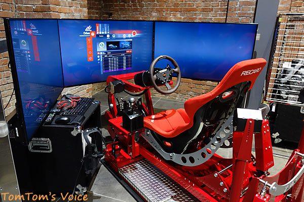 GLION MUSEUMのT3Rレーシングシュミレーター