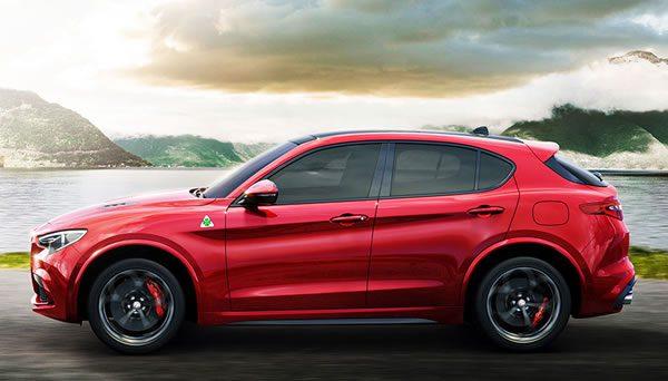 「Alfa Romeo Stelvio Quadrifoglio」のサイド画像