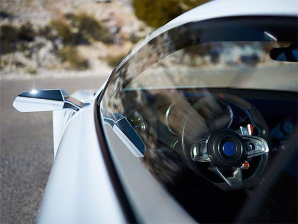 Alpine Visionのドアミラー画像