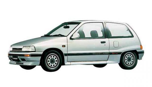 ダイハツのシャレード GTti というグレード