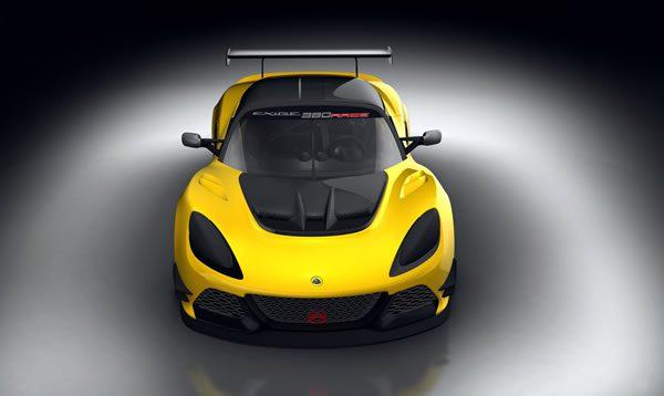 「Lotus Exige Race 380」のフロント画像