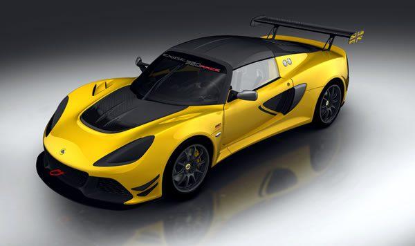 「Lotus Exige Race 380」のフロント画像その2