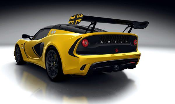 「Lotus Exige Race 380」のリア画像