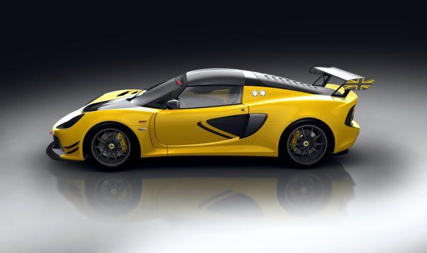 「Lotus Exige Race 380」のサイド画像