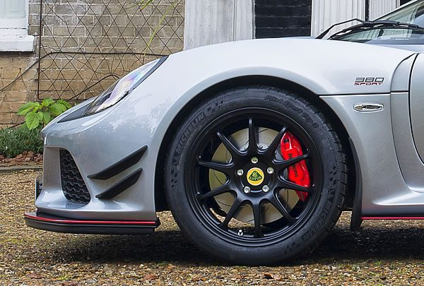 「Lotus Exige Sport 380」のフロントホイール画像