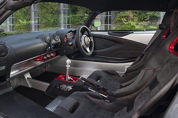 「Lotus Exige Sport 380」のシート画像