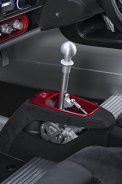 「Lotus Exige Sport 380」のシフトレバー画像