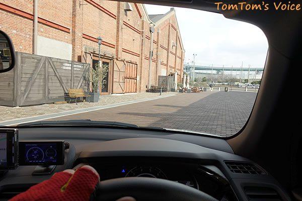 S660で行くGLION MUSEUMを運転席から見たところ