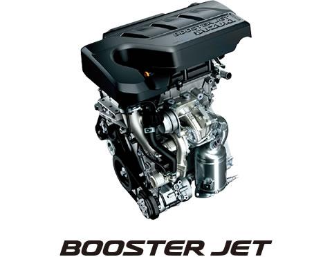 スズキ1.0Lブースタージェットエンジン