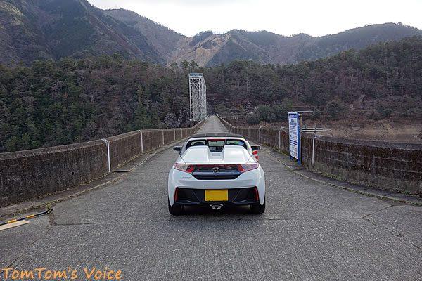 S660で行く熊野路、風屋ダムとS660