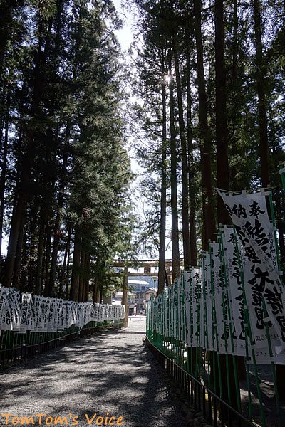 S660で行く熊野路、熊野本宮大社の参道