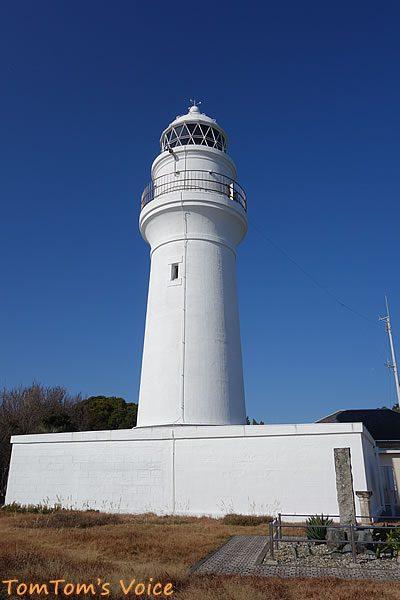 S660で行く熊野路、美しいフォルムを見せる潮岬灯台