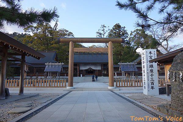 S660で行く春の但馬と丹後へのプチ弾丸ツアー、元伊勢籠神社