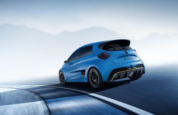 ルノー「Zoe e-Sport Concept」、リア画像