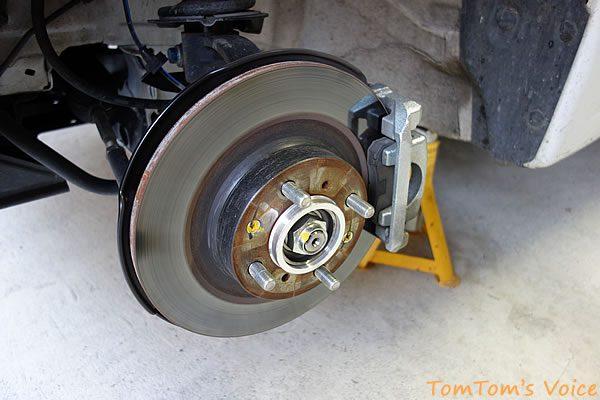 S660のフロントブレーキの状態