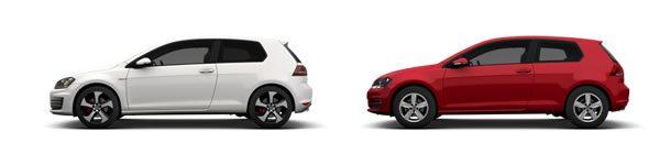 VWの2017GOLF、ヨーロッパでは3ドアモデルがある