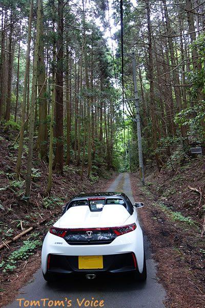 無限ハードトップ装着して山を走ってみた、173号線から西へ川西篠山線へ抜ける浮峠