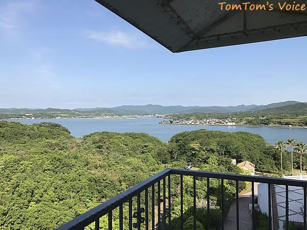 BRZで行く熊野と伊勢志摩、伊勢志摩のホテルからの眺望