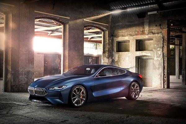 「BMW Concept 8 Series」のフロント画像その1