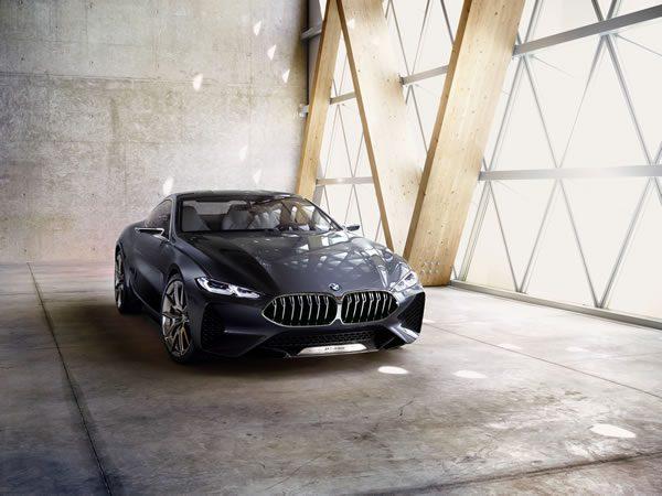 「BMW Concept 8 Series」のフロント画像その3