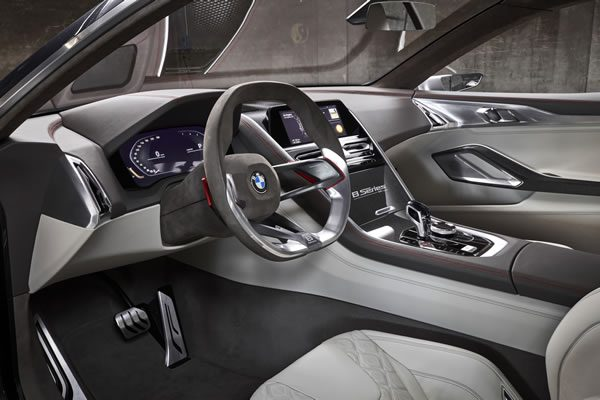 「BMW Concept 8 Series」のインパネ画像その2