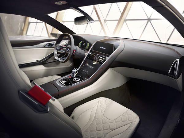 「BMW Concept 8 Series」のインパネ画像その1