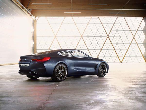 「BMW Concept 8 Series」のリア画像その1