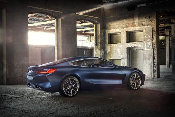 「BMW Concept 8 Series」のサイド画像その2
