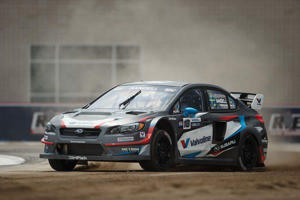レッドブル グローバル ラリークロスでの新型WRX STI